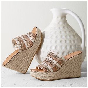 NEW Dolce Vita Prue Espadrille Wedge Slide Sz 10M
